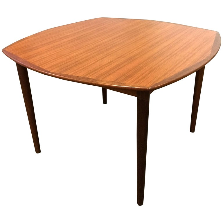 Gustav Bahus Teak Dining Table Norway 1960s For