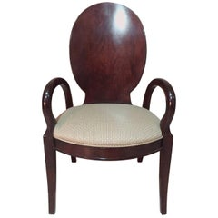 Rosewood Arne Jacobsen Style Chair, 1970s