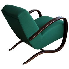 1930s Czech H269 Art Deco Armchair by Jindrich Halabala for UP Brno