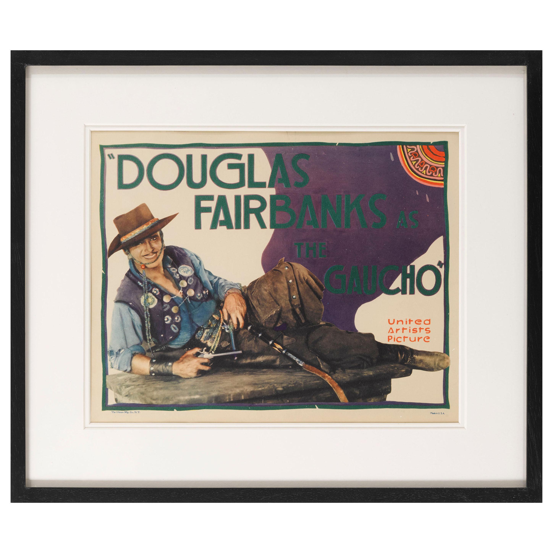 """The Gaucho"" Original US Title Lobby Card"