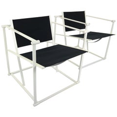 Set of 2 Radboud Van Beekum Fm62 Cube Chairs for Pastoe, 1980s Dutch Design