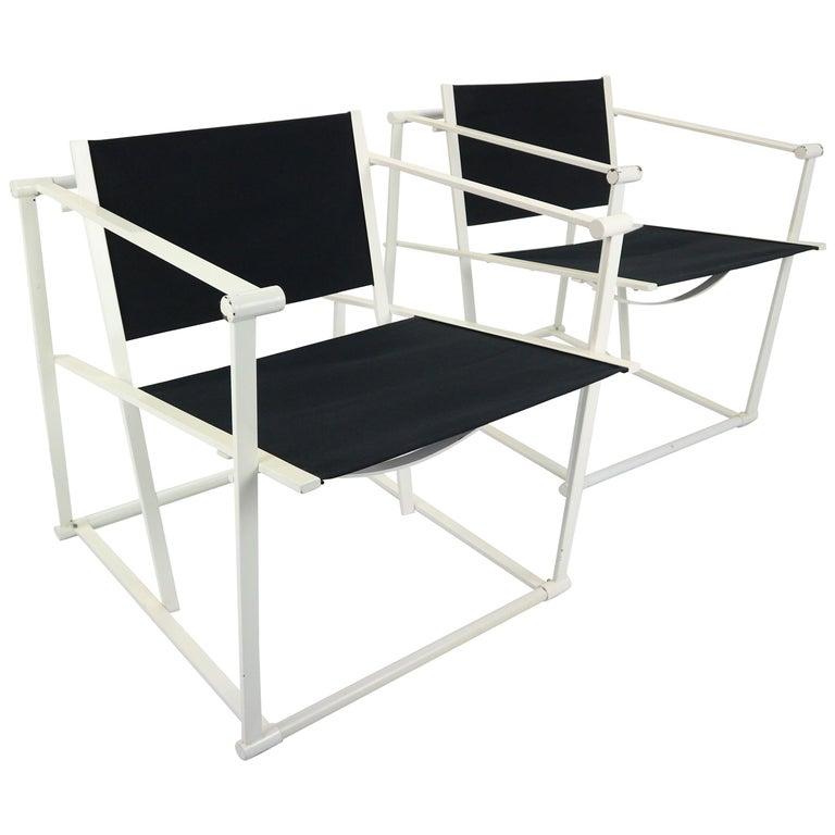 Set of 2 Radboud Van Beekum Fm62 Cube Chairs for Pastoe, 1980s Dutch Design For Sale