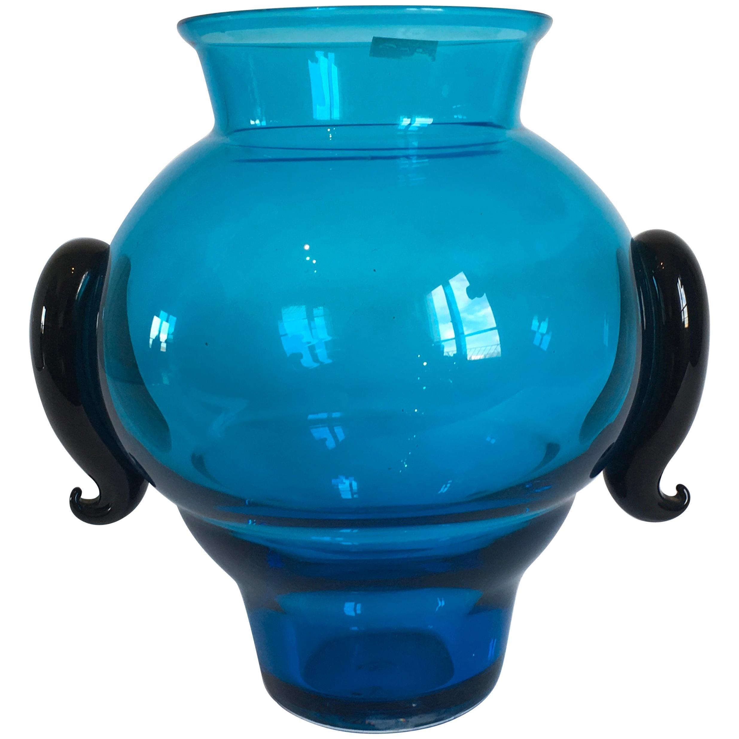 Murano Glass Vase Model Bicorno by Barovier & Toso, Italy