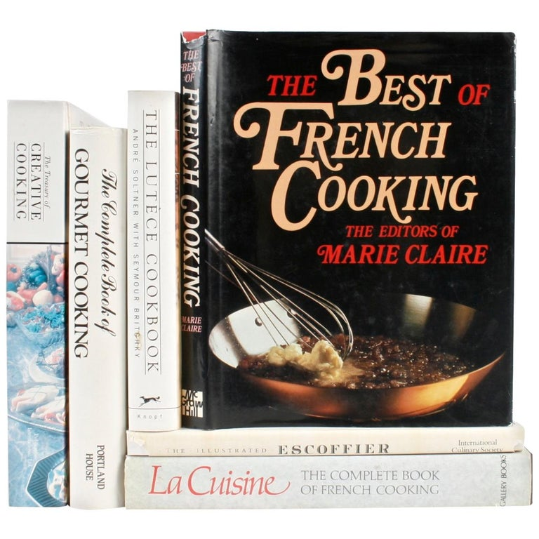 Collection of Six Gourmet Cook Books For Sale