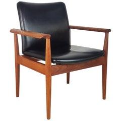 1960s Finn Juhl Diplomat Chair Made by France & Son Denmark