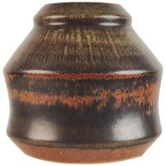 Vase in Stoneware by Carl-Harry Stålhane for Rörstrand, Sweden