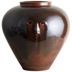 Ceramic Head Vessel by Cathrine Raben Davidsen