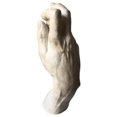 1:1 Scale Plaster Right Hand of Michelangelo's David