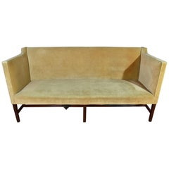 Kittinger Style Antique English Chippendale Box/Tuxedo Sofa-Kaare Klint Style