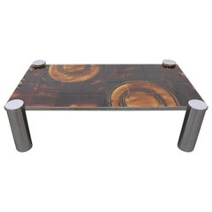 Belarti Style Ceramic Tile Topped Coffee Table