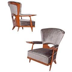 Enrico Ciuti Designer of Rare Easy Chairs