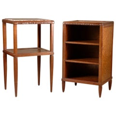 Maurice Dufrene Pair of Side Tables or Nightstands
