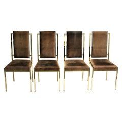 Dining Chairs by Romeo Rega, 1970s