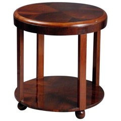 Georges Djo-Bourgeois French Art Deco Modernist Side Table