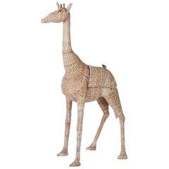 Wicker Giraffe Bar by Mario Lopez Torres