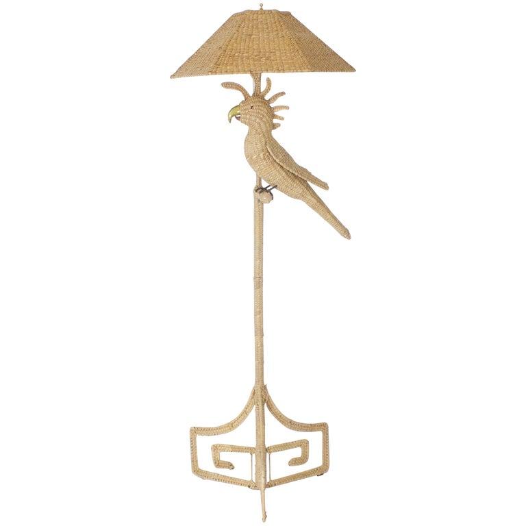 Mario Torres Cockatoo Floor Lamp For Sale