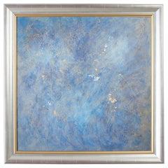 Avra Dez Abstract Painting Lapis Nebula, 2008