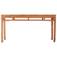 Provincial Chinese Altar Style Console Table