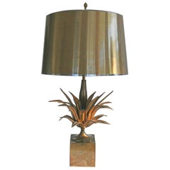 Pair of Agave a Gorge Lamps by Maison Charles