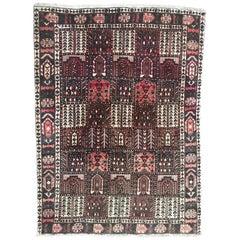 Nice Vintage Bakhtiar Style Rug