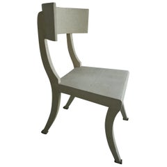 Maitland Smith Shagreen Chair by Karl Springer