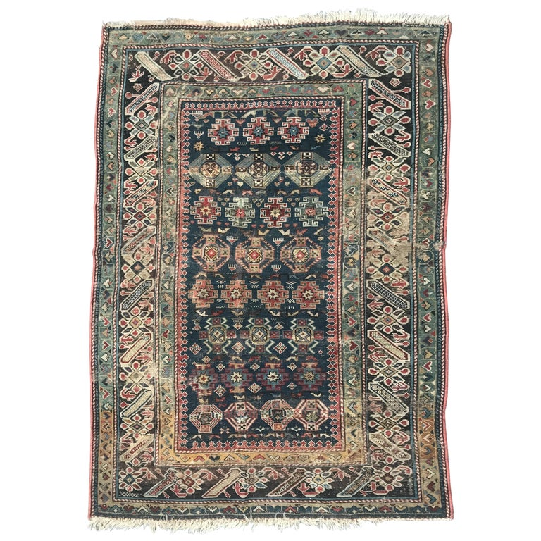 Antique Caucasian Shirvan Rug For Sale At 1stdibs