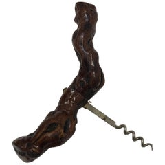 Vintage Grapevine Screw Bottle Opener