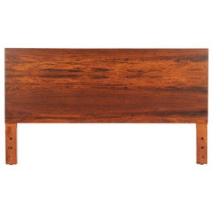 George Nelson 'Thin Edge' Full-Size Rosewood Headboard for Herman Miller