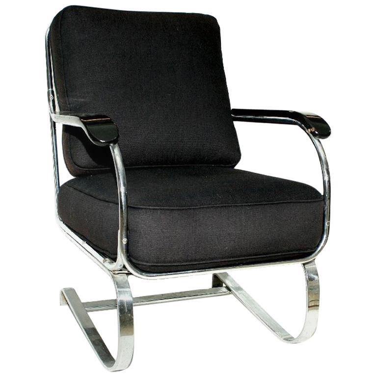 KEM Weber Springer Armchair for Lloyd