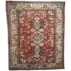 Very Beautiful Contemporary Afghan Rug