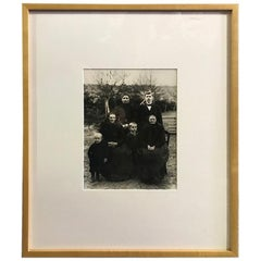 "August Sander Silver Gelatin Photographic Print ""Farming Family"""