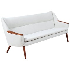 Danish Modern Model-58 Sofa by Kurt Ostervig for Rolschau Mobler