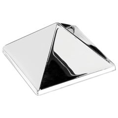 Mirror Sculpture, Single Pyramid Wall Hanging by Verner Panton