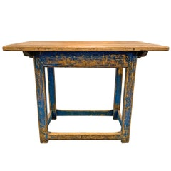 18th Century Swedish Farm Table