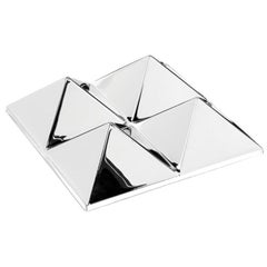 Mirror Sculpture, Four-Pyramid Wall Hanging by Verner Panton