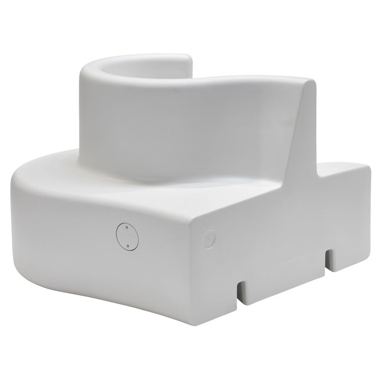 Cloverleaf in and Outdoor Sofa, Right Unit in White by Verner Panton ...