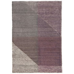 Nanimarquina Capas 4 Small Rug in Violet by Mathias Hahn