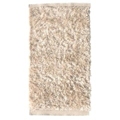Nanimarquina Wellbeing Small Wool Chobi Rug in Ivory by Ilse Crawford