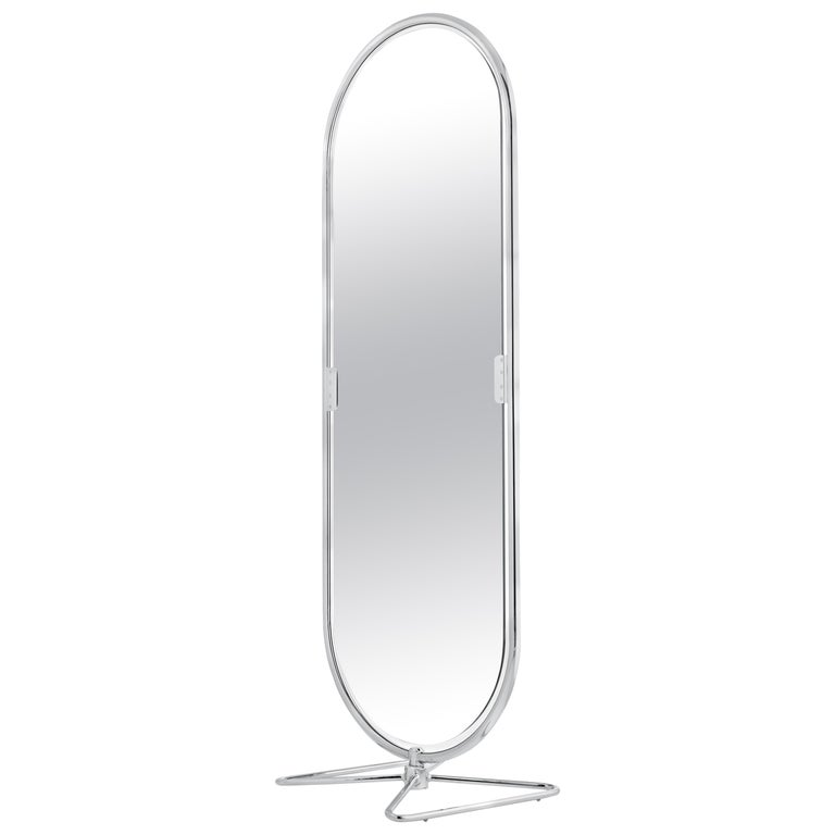 System 1-2-3 Mirror with Chrome Fram by Verner Panton For Sale