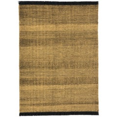 Tres Texture Gold Rug by Elisa Padron and Nani Marquina