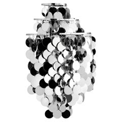 Fun 1WA Wall Light with Metal Discs by Verner Panton