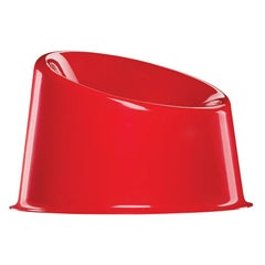 Panto Pop Chair in Red by Verner Panton