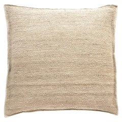 Nanimarquina Wellbeing Heavy Mazari Cushion in Beige by Ilse Crawford