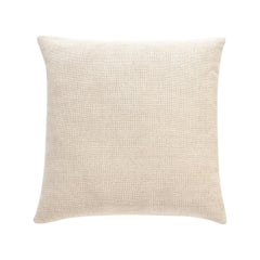 Nanimarquina Wellbeing Large Light Cushion in Ivory by Ilse Crawford
