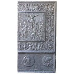 Large 16th Century German Gothic Fireback