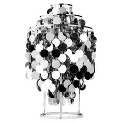 Fun 1TA Table Lamp with Metal Discs by Verner Panton