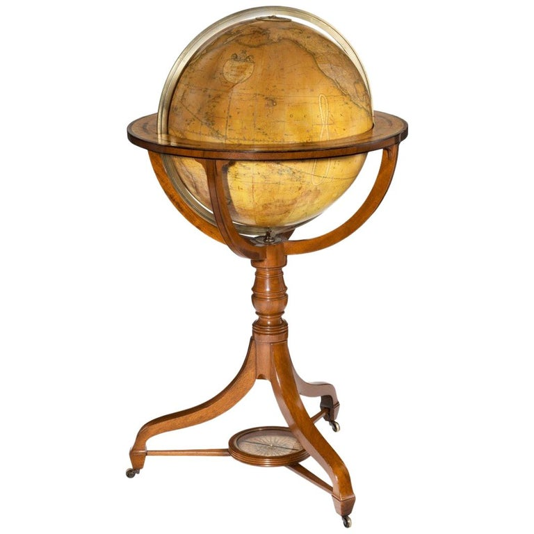 George IV George Smith Terrestrial Globe For Sale