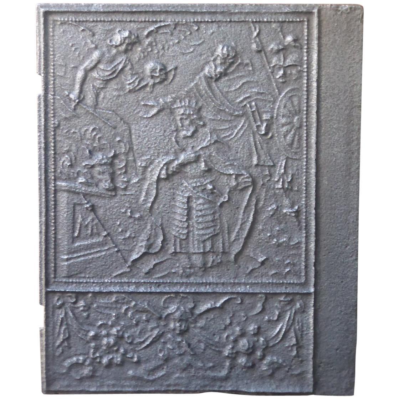 16th Century German Gothic Fireback