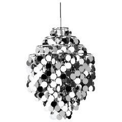 Fun 0DA Pendant with Metal Discs by Verner Panton
