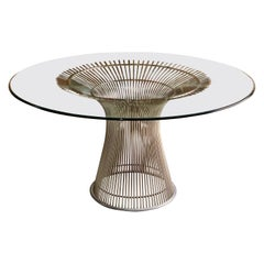 Platner Dining Table by Warren Platner for Knoll Mid-Century Modern Design